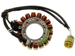 Aprilia RSV Tuono stator alternator rewinding / recondition