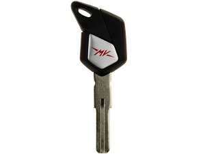 MV Agusta blanco chip key (black) 8000B5575