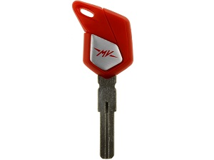 MV Agusta blanco chip key (red) laser