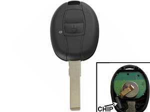 Piaggio MP3 chip key with buttons