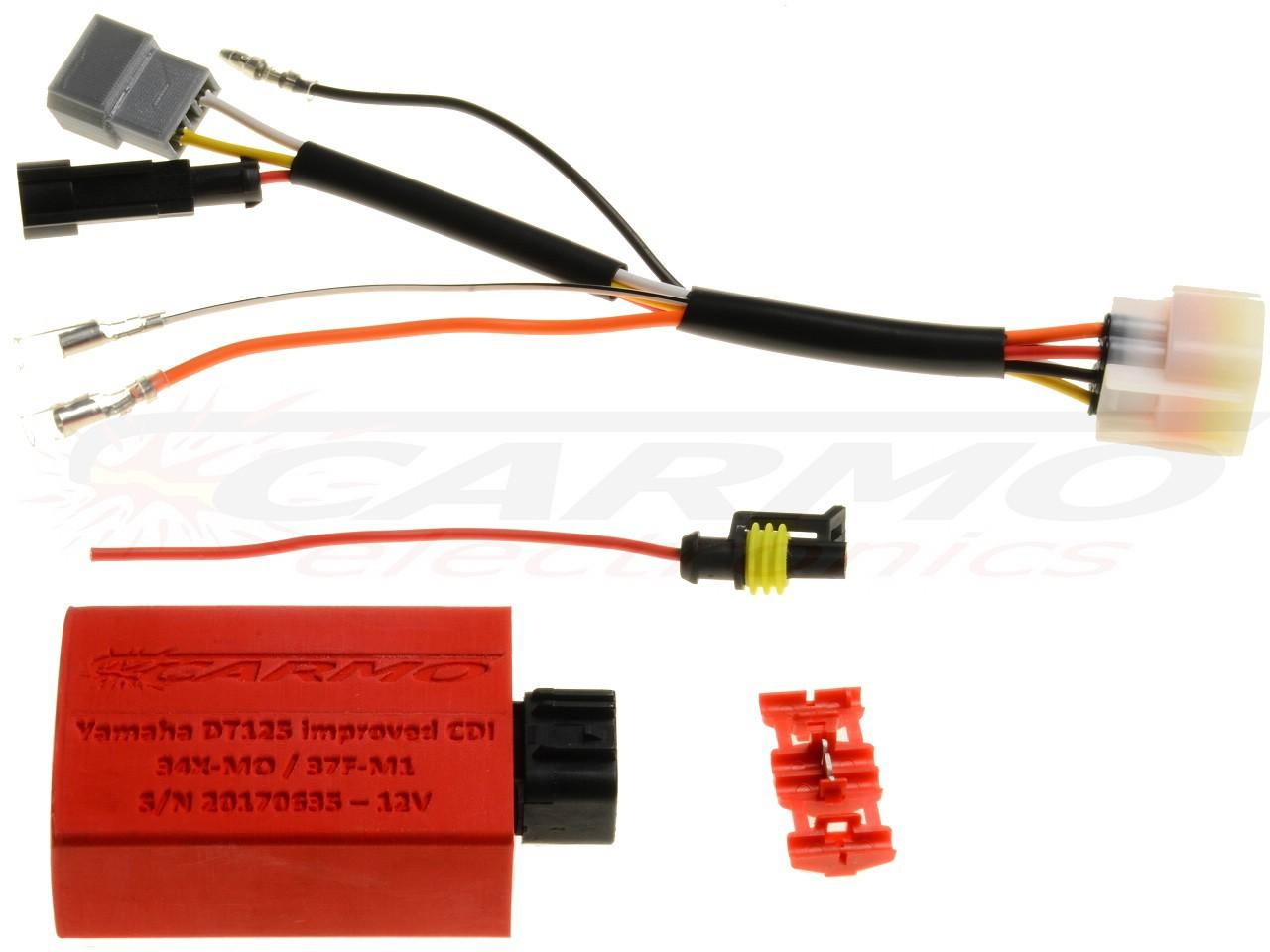 Yamaha Dt 125 Cdi Box Wiring - Wiring Diagram Schematic on